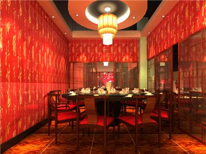 巴蜀風川菜館裝修設計